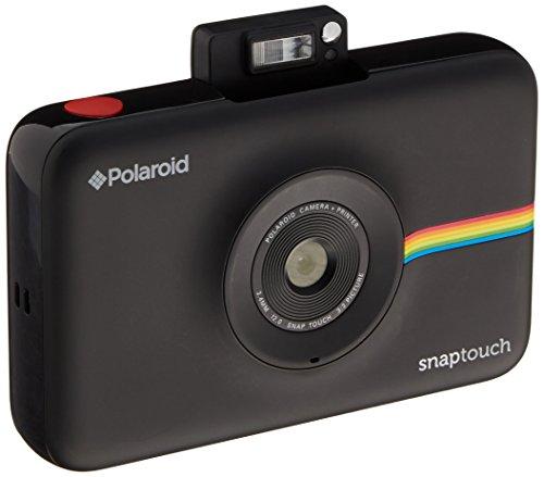 polaroid schnappschuss sofortdruck digitalkamera mit lcd display schwarz mit zink zero ink. Black Bedroom Furniture Sets. Home Design Ideas