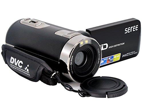 SEREE Camcorder Kamera HDV-301S FHD 1080P Digital-Video ...