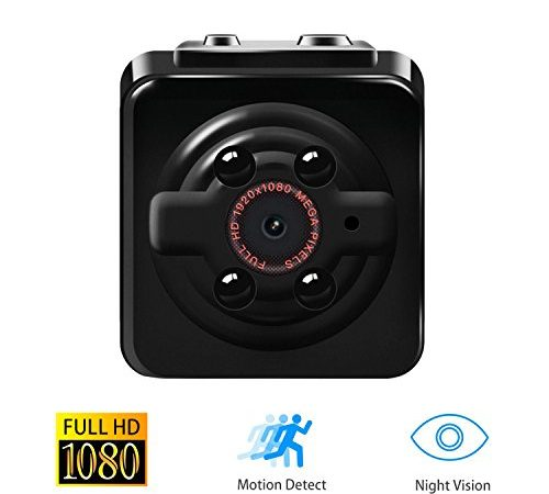 1080p mini cam surveillance kamera vaxiuja full hd tragbare kleine nanny cam mit nachtsichtger t. Black Bedroom Furniture Sets. Home Design Ideas