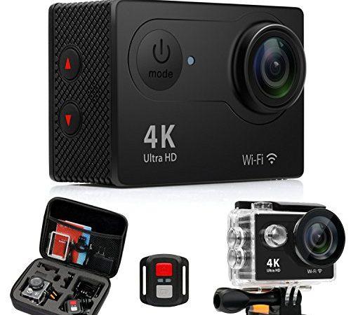 4k action kamera sport actioncam wasserdicht helmkamera. Black Bedroom Furniture Sets. Home Design Ideas