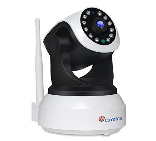 wlan ip kamera ctronics 1080p berwachungskamera ptz pan tilt home indoor kamera baby monitor. Black Bedroom Furniture Sets. Home Design Ideas