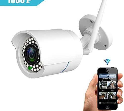 huayuu ip kamera indoor outdoor hd 1080p infrarot f r. Black Bedroom Furniture Sets. Home Design Ideas