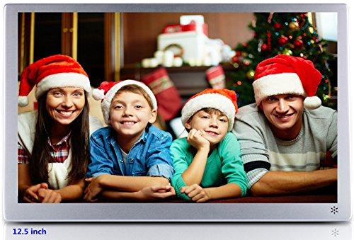neueste version 12 zoll digitaler bilderrahmen ips display 1920 x 1080 hd video wiedergabe. Black Bedroom Furniture Sets. Home Design Ideas