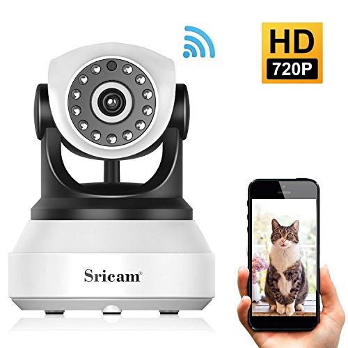 Sricam SP017 720P IP Kamera Indoor Wlan Überwachungskamera