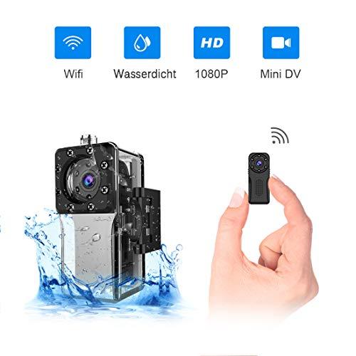 Mini Kamera,NIYPS Full HD 1080P Tragbare Kleine